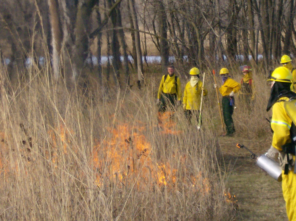 Fall 2009 Prairie Burn